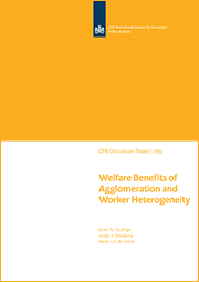 Image for Welfare Benefits of Agglomeration and Worker Heterogeneity
