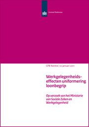 Image for Werkgelegenheidseffecten uniformering loonbegrip