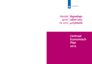 Centraal Economisch Plan (CEP) 2012