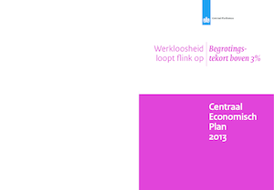Centraal Economisch Plan (CEP) 2013