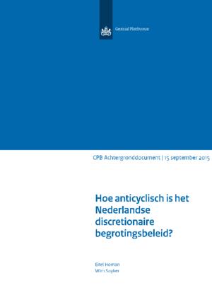 Hoe anticyclisch is het Nederlandse discretionaire begrotingsbeleid?