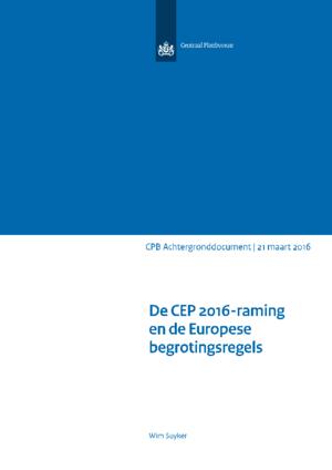 De CEP2016-raming en de Europese begrotingsregels