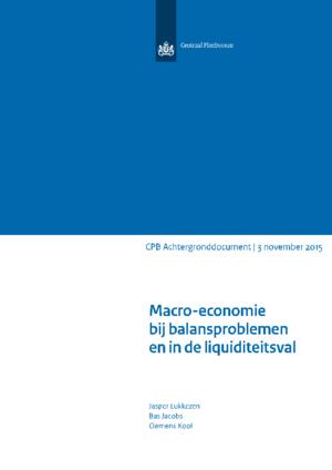 Macro-economie bij balansproblemen en in de liquiditeitsval