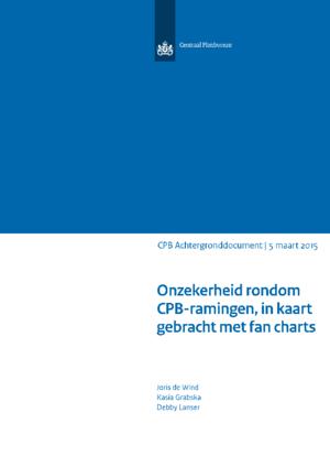 Onzekerheid rondom CPB-ramingen, in kaart gebracht met fan charts