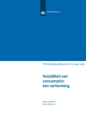 Volatiliteit van consumptie: een verkenning