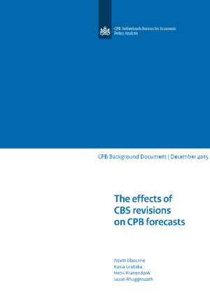The effects of CBS revisions on CPB forecasts