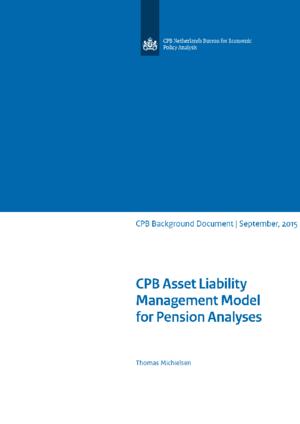 CPB Asset Liability Management model voor beleidsanalyses tweedepijlerpensioenen
