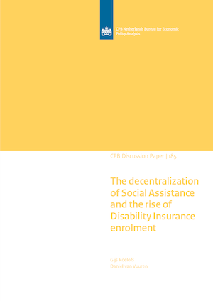 The decentralization of Social Assistance and the rise of Disability Insurance enrolment