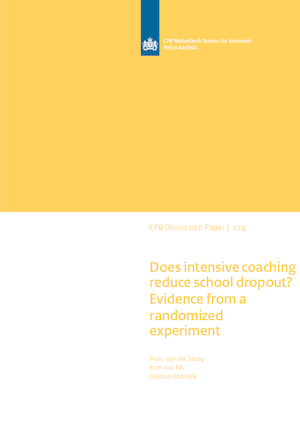 Does intensive coaching reduce school dropout?