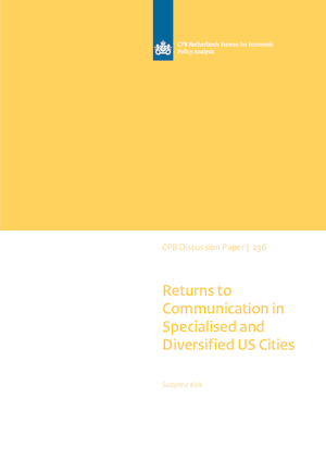 Returns to Communication in Specialised and Diversified US Cities