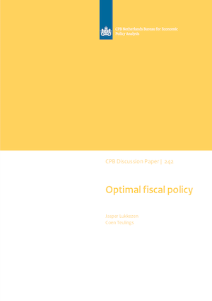Optimal fiscal policy