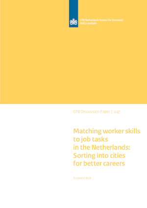 Matching worker skills to job tasks in the Netherlands: Sorting into cities for better careers