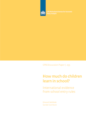 How much do children learn in school? International evidence from school entry rules