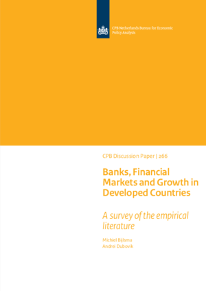Banks, Financial Markets and Growth in Developed Countries: a Survey of the empirical literature