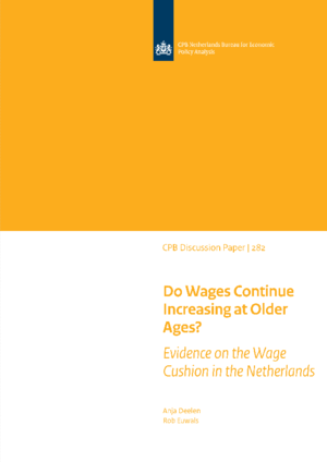 Do Wages Continue Increasing at Older Ages? Evidence on the Wage Cushion in the Netherlands