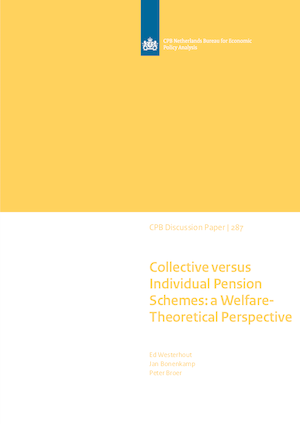 Collective versus Individual Pension Schemes: a Welfare-Theoretical Perspective