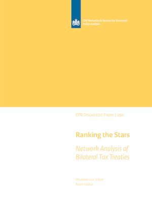 Ranking the Stars: Network Analysis of Bilateral Tax Treaties