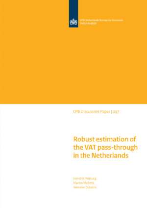 Robust estimation of the VAT pass-through in the Netherlands