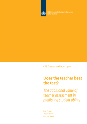 Does the teacher beat the test? The additional value of teacher assessment in predicting student ability