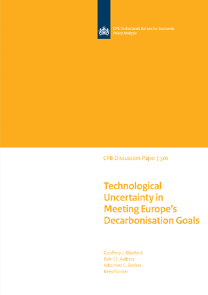 Technological Uncertainty in Meeting Europe's Decarbonisation Goals