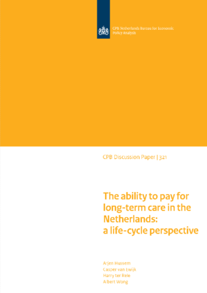 The ability to pay for long-term care in the Netherlands: a life-cycle perspective