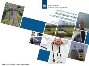 Presentatie 'Algemene leidraad voor maatschappelijke kosten-batenanalyse'