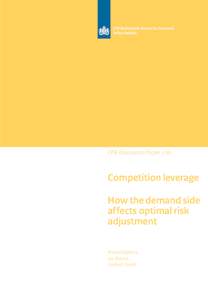 Competition leverage: How the demand side affects optimal risk adjustment