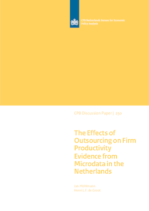 The effects of outsourcing on firm productivity: Evidence from microdata in the Netherlands