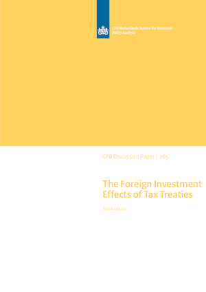The Foreign Investment Effects of Tax Treaties