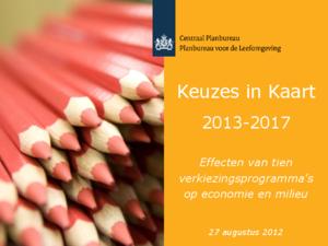 Presentatie Keuzes in Kaart 2013-2017