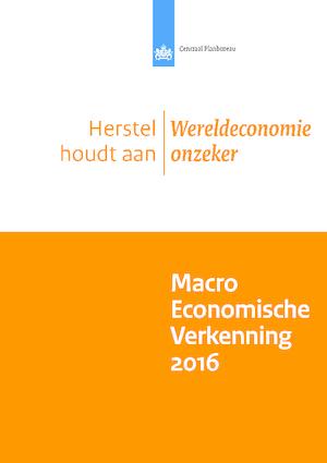 Macro Economische Verkenning (MEV) 2016