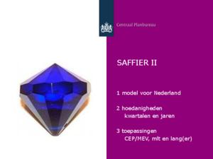 """Presentatie """"SAFFIER II"""""""