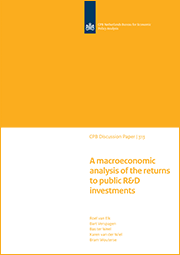 Image for A macroeconomic analysis of the returns to public R&D investments