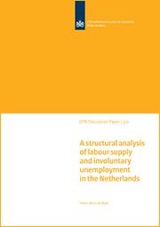 Image for Een structurele analyse van arbeidsaanbod en onvrijwillige werkloosheid in Nederland