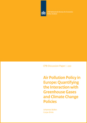 Image for Air Pollution Policy in Europe: Quantifying the Interaction with Greenhouse Gases and Climate Change Policies