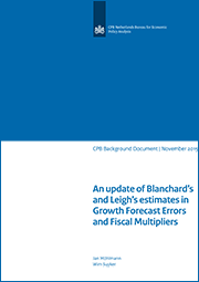 Image for An update of Blanchard's and Leigh's estimates in Growth Forecast Errors and Fiscal Multipliers
