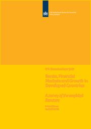 Image for Banken, financiële markten en groei in ontwikkelde landen: een overzicht van de empirische literatuur