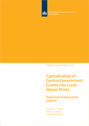 Image for Capitalization of Central Government Grants into Local House Prices