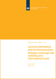 Image for Currency derivatives and the disconnection between exchange rate volatility and international trade