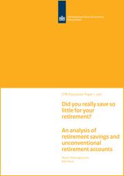 Image for Heb je echt zo weinig voor je pensioen gespaard? Een analyse van niet-conventionele manieren van pensioensparen