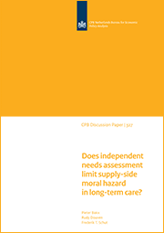 Image for Does independent needs assessment limit supply-side moral hazard in long-term care?