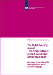 Image for The Dutch housing market - mortgage interest rates, house prices and consumption