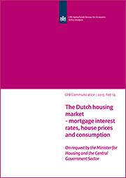 Image for De Nederlandse woningmarkt - hypotheekrente, huizenprijzen en consumptie