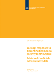 Image for Earnings responses to discontinuities in social security contributions: Evidence from Dutch administrative data