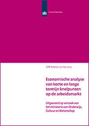 Image for Economische analyse van korte en lange termijn knelpunten op de arbeidsmarkt