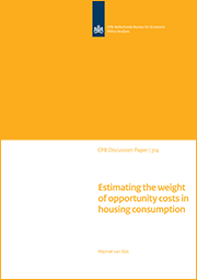 Image for Estimating the weight of opportunity costs in housing consumption