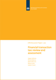 Image for Financial transaction tax: review and assessment