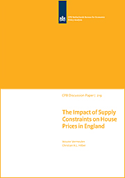 Image for The Impact of Supply Constraints on House Prices in England