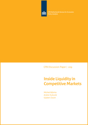 Image for Inside Liquidity in Competitive Markets