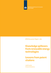 Image for Knowledge spillovers from renewable energy technologies, Lessons from patent citations